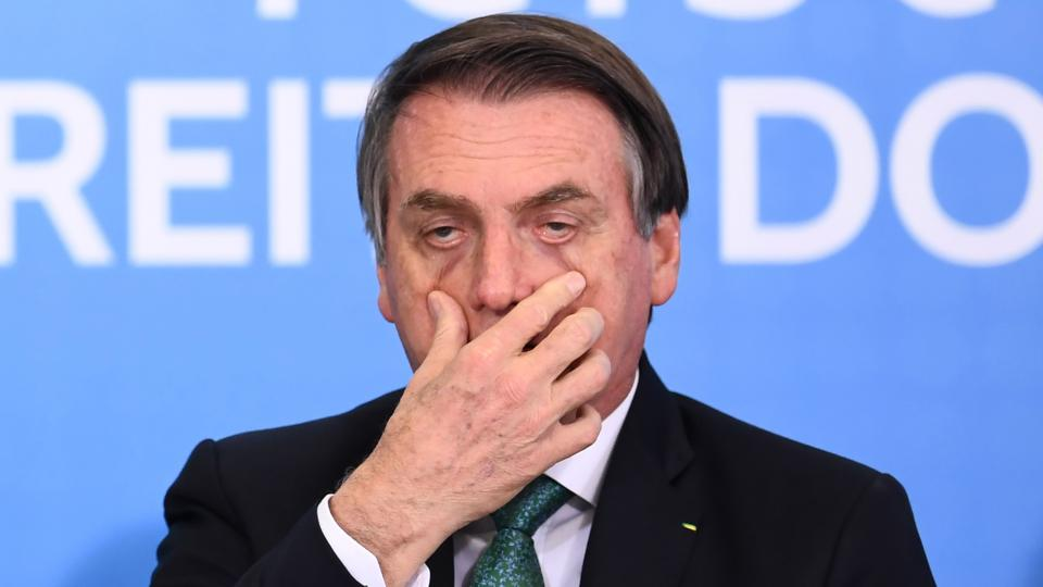Bolsonaro ocupa desde enero el sillón presidencial de Brasil.
