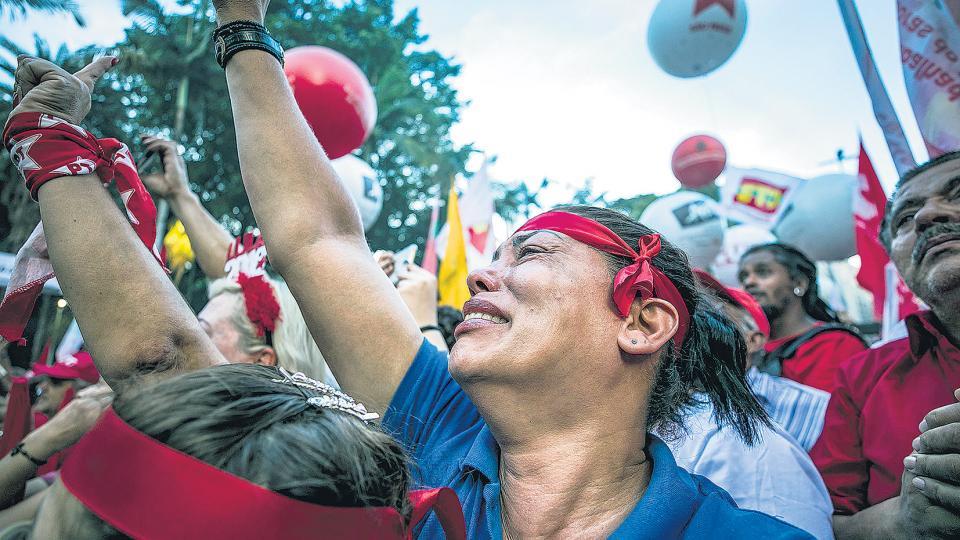 Lula sigue dispuesto a dar batalla hasta lograr vencer la guerra: así lo demostró en el acto realizado en San Pablo.