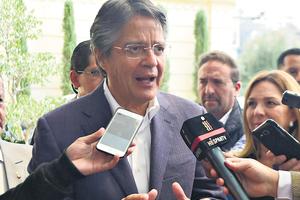 Lasso podría ser imputado por evasión tributaria. (Fuente: AFP)