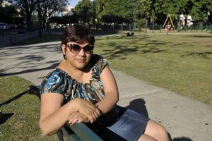 Silvana Corso, directora de la Escuela Media 2 Rumania, que recibe población vulnerable.