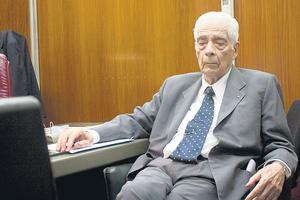 Luciano Benjamín Menéndez. (Fuente: Télam)
