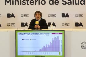 Fernán Quirós, ministro de Salud porteño (Fuente: NA)