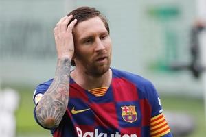 Messi y el mal momento del Barcelona. (Fuente: EFE)