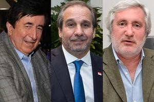 Jaime Durán Barba, Nicolás Caputo y Julio Conte Grand, entre los que tuvieron líneas.