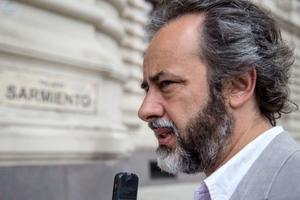 López no ahorró críticas a Larreta y Acuña. (Fuente: NA)