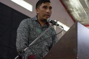"""""""Esto tiene que parar"""", aseguró a PáginaI12 Nelson Avalos, titular de la APDH del Noroeste de Chubut."""