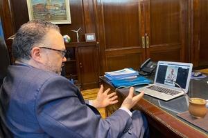 Matías Kulfas se reunió con Francisco De Narváez. (Fuente: NA)