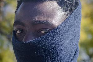 Gideon es oriundo de Ghana y fue detenido en agosto (Fuente: Federico Muiña)