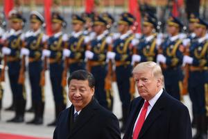 Los presidentes Xi Jinping (China) y Donald Trump (Estados Unidos). Se está reconfigurando aceleradamente las relaciones de poder entre los centros y la periferia. (Fuente: AFP)