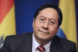 Luis Arce, presidente de Bolivia. (Fuente: AFP)