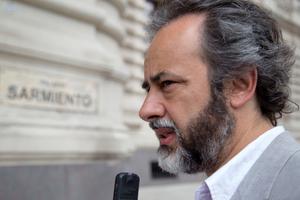 """""""Macri-Trump. Misma campaña, mismos resultados"""", posteó Eduardo López. (Fuente: NA)"""