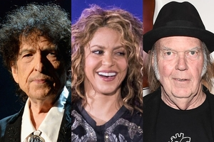 Dylan, Shakira y Young vendieron sus catálogos a Hipgnosis Song Fund.