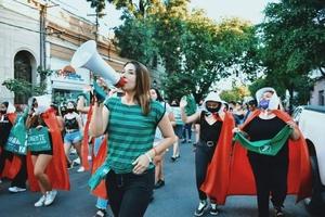 Marcha en Salta (Fuente: Gentileza de Mumalá)