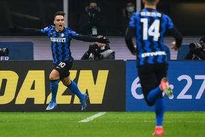 Martínez, con asistencia de Lukaku, marcó el tercer gol del Inter. (Fuente: AFP)