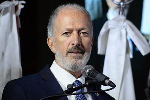 El presidente de la Delegación de Asociaciones Israelitas Argentinas, Jorge Knoblovits (Fuente: NA)