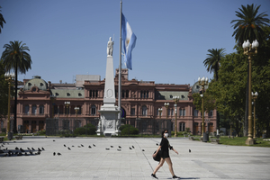 """""""Discutir y disputar a fondo y sin concesiones el modelo de acumulación en la Argentina que está vigente desde 1976"""", propone Juan Carlos Aguiló. (Fuente: NA)"""