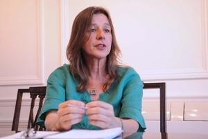La ministra Sabina Frederic. (Fuente: Guadalupe Lombardo)