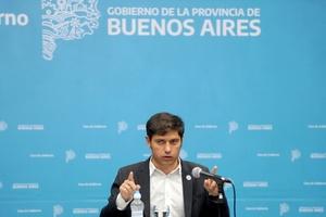"""""""Ya detectamos personas con la variante de Manaos en la provincia de Buenos Aires, en la Ciudad también"""", dijo Axel Kicillof. (Fuente: Télam)"""
