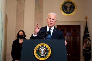 El presidente Joe Biden aprobó el Plan de Empleo con inversiones públicas en infraestructura física y social por 2,3 billones de dólares. (Fuente: AFP)