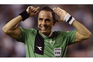 Pablo Lunati, exárbitro internacional (Fuente: AFP)