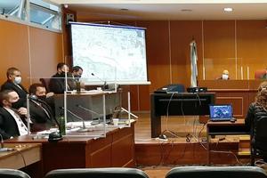 Quinta audiencia en la Sala de grandes Juicios. (Fuente: Fiscales Penales)