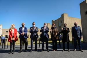 La foto de la unidad tras la discusión por la política tarifaria. (Fuente: NA)