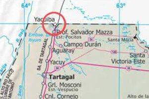Zona fronteriza entre Argentina y Bolivia.