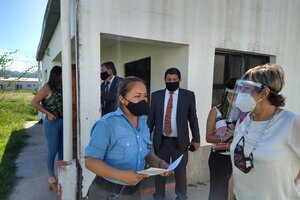 La jueza de Corte Sandra Bonari, visitó el Centro en marzo pasado.