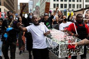 El crimen de Floyd despertó una ola de protestas contra el racismo en Estados Unidos. (Fuente: AFP)
