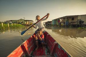 """""""Érase una vez en Venezuela, Congo Mirador"""": un documental sobre un """"pueblo de agua"""" que está desapareciendo."""