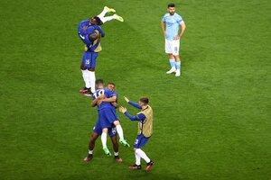 El jolgorio de Chelsea, la desazón de Agüero (Fuente: AFP)