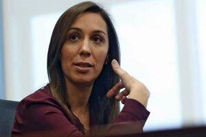 """María Eugenia Vidal dice públicamente que la gobernación es una etapa cumplida, pero desde su entorno aseguran que """"tiene miedo de perder de nuevo"""". (Fuente: NA)"""