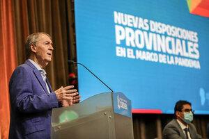 El gobernador Juan Schiaretti anunció el regreso a una fase 1.