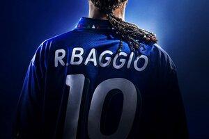 Roberto Baggio y la camiseta 10 de Italia, todo un símbolo de su carrera (Fuente: Netflix)