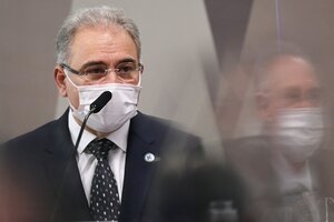 Marcelo Queiroga, ministro de Salud brasileño (Fuente: AFP)
