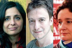 """""""Hay que tener una perspectiva de soberanía audiovisual"""", dicen Gugliotta, Márquez y Ragone."""