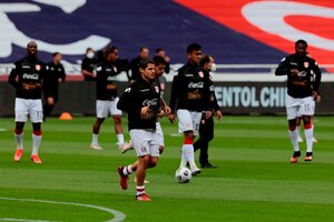 El equipo de Gareca, con una baja de último momento (Fuente: EFE)