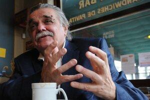 Horacio González (1944-2021). (Fuente: Rafael Yohai)