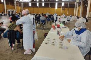 Centro de Vacunación Predio Ferial.
