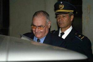 Gavazzo fue uno de los más connotados represores de la dictadura uruguaya (Fuente: AFP)