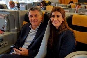 Mauricio Macri viajó otra vez a Europa junto con su familia.