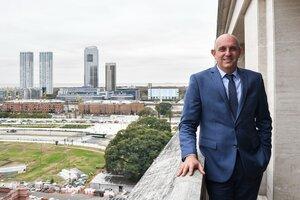 Alexis Guerrera, ministro de Transporte. (Fuente: Télam)
