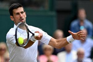 Novak Djokovic lleva ganados 19 títulos de Grand Slam (Fuente: AFP)