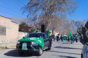 Protesta en Cafayate.