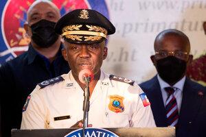La policía de Haití anunció el arresto del presunto autor intelectual del asesinato del presidente JovenelMoïse. (Fuente: EFE)