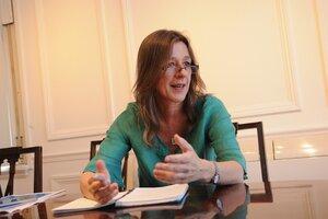 La ministra de Seguridad, Sabina Frederic. (Fuente: Guadalupe Lombardo)
