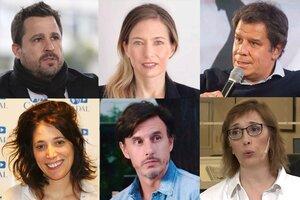 Martín Tetaz, Carolina Castro, Facundo Manes, Sabrina Ajmechet, Roberto García Moritán, Sandra Pitta.