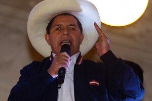 Castillo aseguró que no traicionará las esperanzas que los sectores más pobres. (Fuente: AFP)