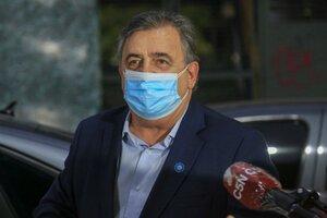 Mario Negri, en competencia con Luis Juez. (Fuente: NA)