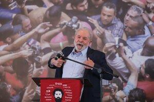 Preocupación por la seguridad de Lula en Brasil. (Fuente: Xinhua)